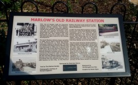 Marlow's old railway station