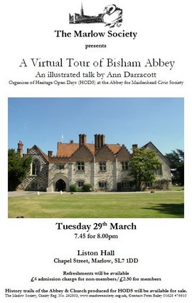 Virtual Tour of Bisham Abbey 29-Mar-2016