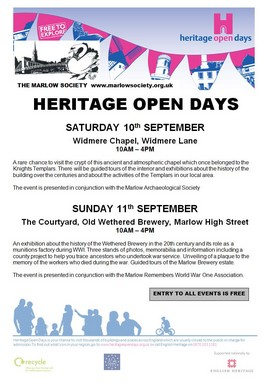 Heritage Open Day 2016