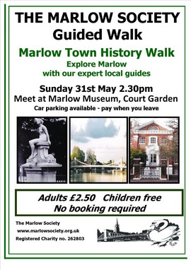 Marlow Town History Walk 31-May-2015