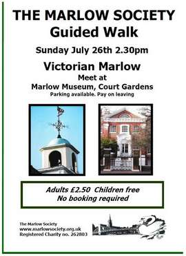 Victorian Marlow guided Walk 26-July-2015