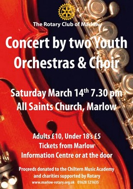 Youth Concert in Marlow - a great event