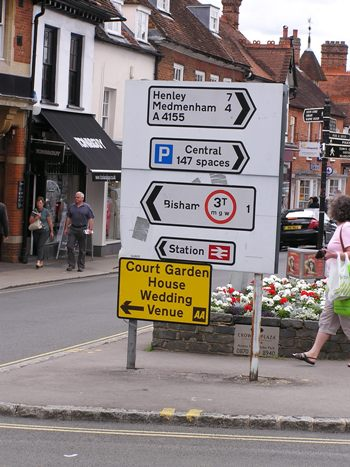 Road Signs in Marlow