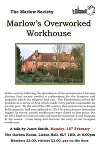 Marlow's overworked Workhouse