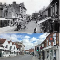 Marlow Then and Now